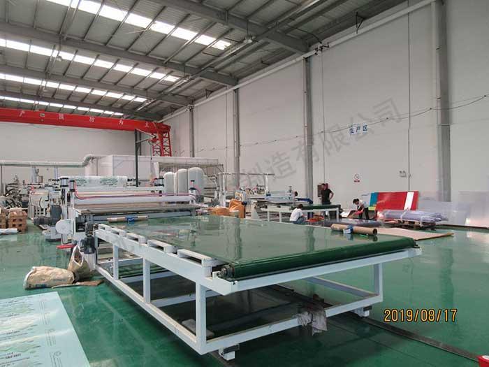 阳光板生产设备